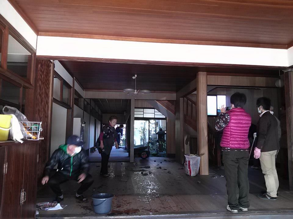 2/18(月)旧政海旅館の清掃ボランティア募集
